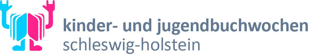 Logo der Kinder- und Jugendbuchwochen in Schleswig-Holstein