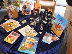 Foto von Piraten-Kinderbuchausstellung